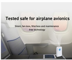 Tested safe for airplane avionics