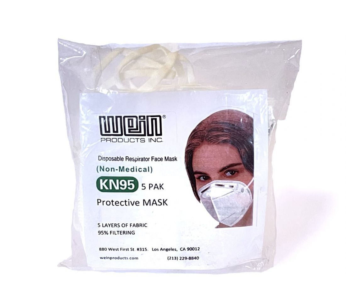 Wein KN-95 Protective Mask 5 Pack