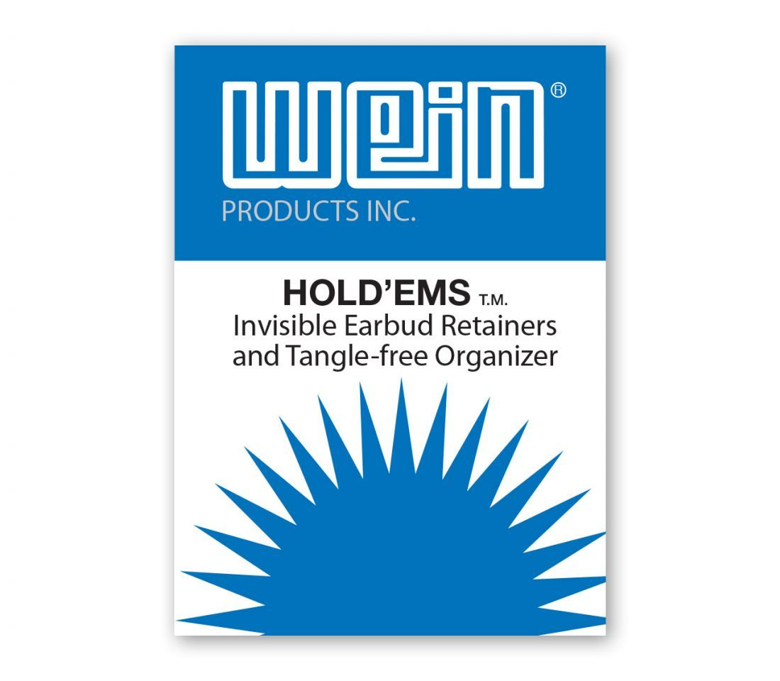 Hold'Ems™ Invisible Earbud Retainers and Tangle-free Organizer Thumbnail