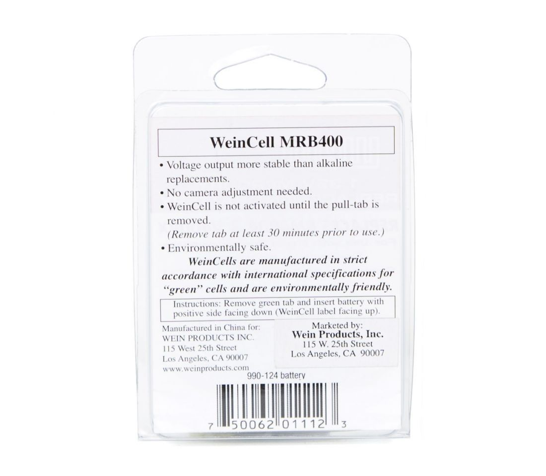 WeinCell Replacement Battery MRB400